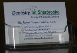 Dr. Jurgen Business Card